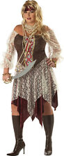 Plus Size South Seas Siren Pirate Adult Halloween Costume. 01636
