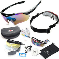 Professional Polarized Cycling Bicycle Glasses Sport Riding Sunglasses Goggles