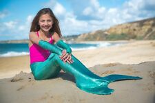 CLEARANCE!  Shimmertail Collection - Mermaid Swim Tail - Sea Foam (Fin Included!