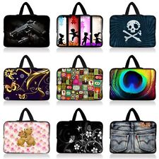 "Colorful Carrying Case Bag Cover Fr 10"" 10.1 10.2 Netbook Notebook Laptop Tablet"