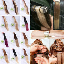 "16"" 18"" 20"" Tape In Remy Skin Weft Ombre Virgin  Human Hair Extensions 20pcs/set"