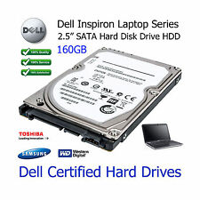 "160GB Dell Inspiron 1520 2.5"" SATA Laptop Hard Disk Drive (HDD) Upgrade"