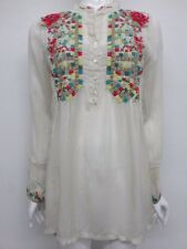 NWT Johnny Was Embroidered Button Front Tunic - S - JW12970716