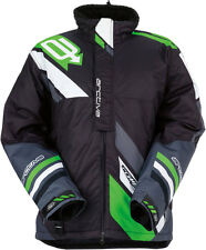ARCTIVA Snow Snowmobile Men's 2017 COMP Insulated Jacket (Blk/Green) Choose Size
