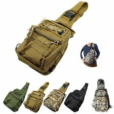 Outdoor Molle Sling Military Shoulder Tactical Backpack Camping Travel Bags GS