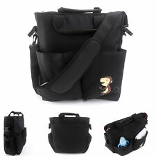 Baby Diaper Nappy Changing Bag Fashion Tote Bag Handbag+Free Changing Mat Pad