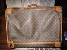 Vintage LARGE LOUIS VUITTON French Co. Suitcase Luggage from SAKS FIFTH AVENUE