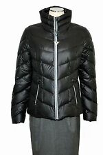 Guess Authentic coat Quilted Shiny Down Puffer Jacket Black 2017 Medium OBO