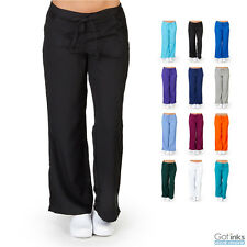 Women's UltraSoft Drawstring Elastic Waist Scrub PANTS ONLY Nursing Uniform