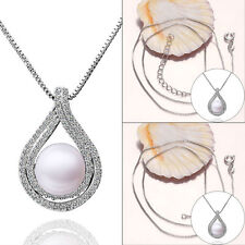 Women Fashion Charm fancy pearl Pendant Chain Exquisite Necklace Jewelry Gift