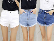 Sexy Pants Short Jeans Girls Casual Summer Beach New Women's High Waist Shorts