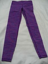 Ivivva By Lululemon Girls Colorful Rhythmic Tights Activewear - NW0T – SZ 8