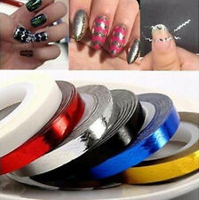 For Nail Polish Sticker DIY Rolls Tips Tape Line Decoration Striping 3D Nail Art