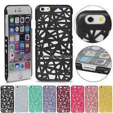 For iPhone 6 5S 4S Hollow Candy Bird Nest Snap On Hard Back Case Cover Guard New