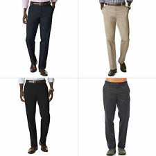 Dockers Pants Straight Fit D2 Signature Flat Front Wrinkle Free Mens All Sizes