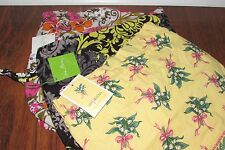 NWT Vera Bradley BAROQUE, HOPE, TEA GARDEN Travel Cosmetic Toiletries DITTY BAG