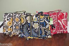 Vera Bradley ELLIE BLUE, GO WILD, ROSY POSIES Travel ESSENTIALS COSMETIC - NWT