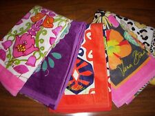 NWT Vera Bradley JAZZY BLOOMS, SUN VALLEY + More Large Vacation BEACH TOWEL