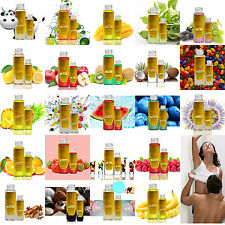 20+ Flavored Food Grade Warming Massage Oil Feels Smells Delicious Lotion Lube W