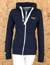 Superdry Womens Hoodie Orange Label Navy Eclipse Pink Jumper Ship Worldwide