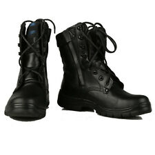 Men's Leather Tactical Army Military Ankle Boots Combat SWAT Armour Works Shoes