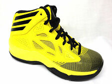 Adidas Crazy Fast J Youth Basketball Shoes Kids Yellow/Black Size 7 NEW