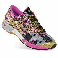 NEW Womens ASICS Gel-Noosa Tri 10 GR Gold Ribbon Running Shoes Size 9 Multi