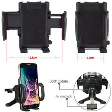 """Hot -MD294 360° Car Air Vent Mount Cradle Holder Stand For 4-6"""" Cell Phone Sony"""