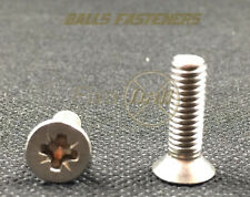 M5/ 5mm, Machine Screws, Pozi, Countersink, A2 Stainless Steel/ pozi csk bolts,