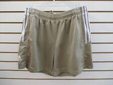 NEW WITH TAGS - WOMEN'S ADIDAS CLIMATE SELECT SHORTS - TAN - SIZE: MED-  $25.00