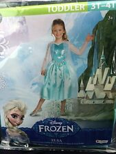Disney By Disguise Frozen Elsa (Anna Sister) Snow Queen Costume Dress NEW
