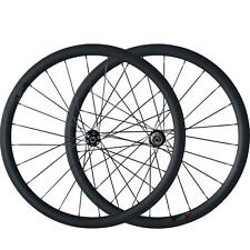 Disc Brake Carbon bike Wheelset  38mm Clincher Tubular Carbon Cyclocross Wheels
