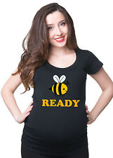 Bee Ready pregnancy Maternity T-shirt funny Bee Gift for new mommy Mother Gift