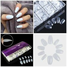 BALLERINA COFFIN Full Cover Press On Nail Tips! **YOU CHOOSE!**