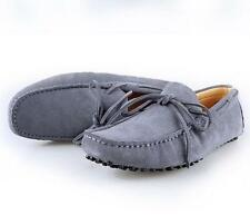 Men's soft suede shoes moccasins driving  loafers slip-ons flats casual creepers