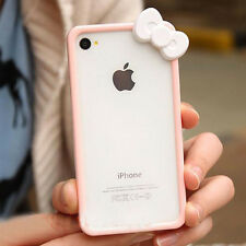 Bow Bowknot Signal Ring Skin Bumper Frame Phone Case Cover Protect iPhone5 5s SE