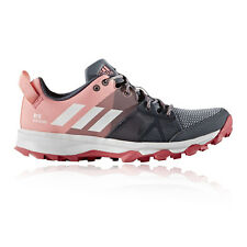 Adidas Kanadia 8 Junior Pink Grey Trail Running Sports Shoes Trainers Pumps