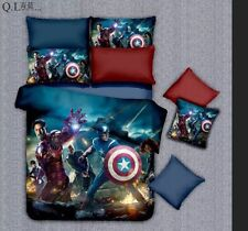 *** The Avengers Single Bed Quilt Cover Set - Flat or Fitted Sheet ***