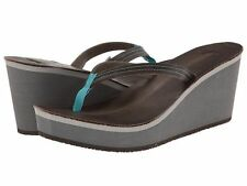 Women's Cushe® UW01222 Fresh Anisa Grey Wedge Sandals Medium Width Size