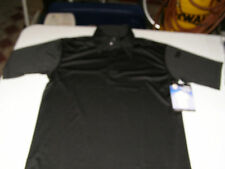 Rothco Black Polo MEDIUM Tactical Performance Moisture Wicking Shirt  3912