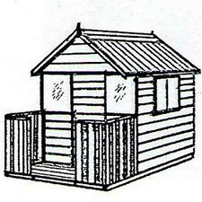 The Hideout Deluxe Cubby House