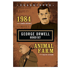 George Orwell Boxed Set by George Orwell CD 2007 Unabridged