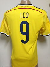 NEW !!! ORIGINAL WORLD CUP 2014 COLOMBIA HOME SOCCER JERSEY TEO GUTIERREZ #9
