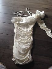 forever unique dress white/ivory size 10