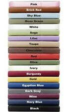 1000TC High Deep Pocket 4PC Sheet set Cal-King Solid/Striped 100%Egyptian Cotton