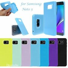 Ultra Slim Soft Silicone Gel Rubber Case Cover Skin For Samsung Galaxy Note 5