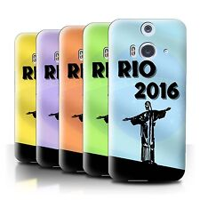 STUFF4 Phone Case/Back Cover for HTC Butterfly 2 /Rio Olympic