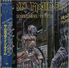 Iron Maiden Somewhere In Time picture disc LP vinyl album record Japanese