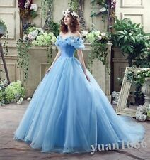 Cinderella Princess/Evening/Prom/Party/Quinceanera/Wedding/Bride dress/Ball gown