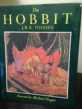 JRR Tolkien - The Hobbit 1984 US Hardcover Illustrated by Michael Hague